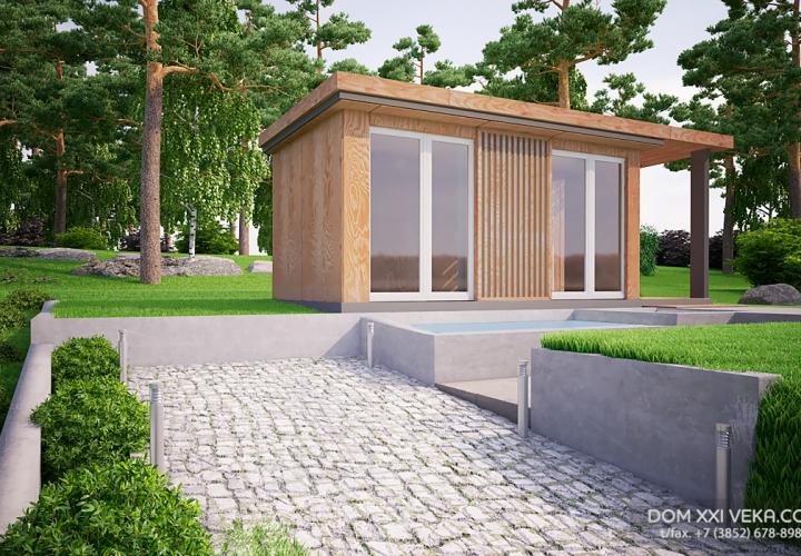 Визуализация проекта для ООО «Дом XXI Века»