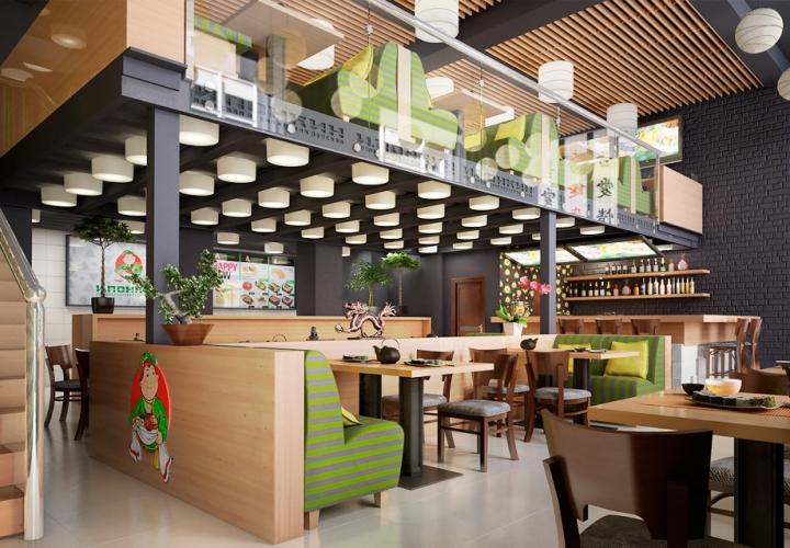 Визуализация проекта Ресторан Ипонкин для ООО «Дизайн-Кабинет»
