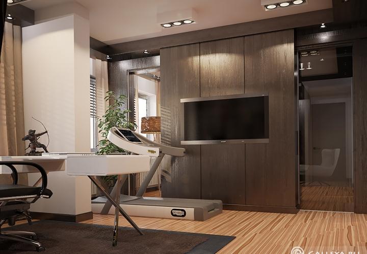 Дизайн и 3D визуализация кабинета