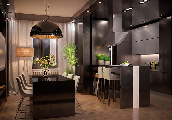 Визуализация квартиры для ООО «Дизайн-Кабинет»
